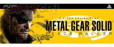 Metal gear PEace Walker PSP