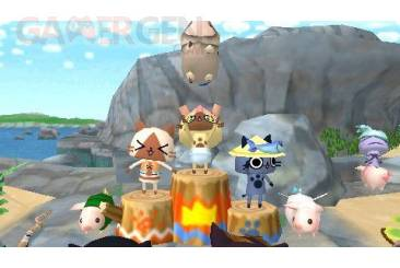 monster hunter nikki poka poka airu village poogie race 06