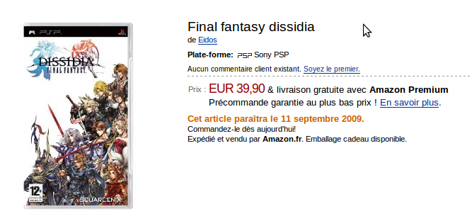 Final-fantasy-dissidia-Amazon-fr