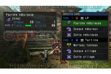 Monster Hunter Portable 3rd - patch français 02