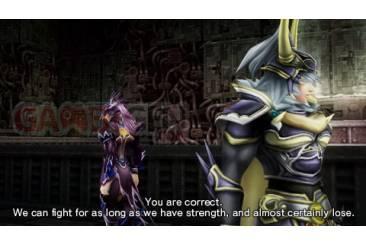 Dissidia Duodecim final Fantasy sous-titre anglais 01