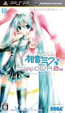 Hatsune Miku Procject Diva 2 PSP