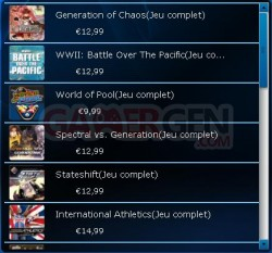 Playstation Store euro 0
