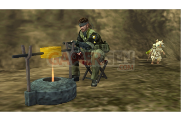 Metal-Gear-Solid-Peace-Walker-niveau-bonus-Monster-Hunter-wyverns-felyne002