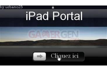 iPad Portal v1.02