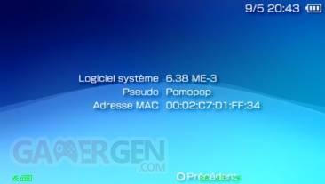 Custom Firmware 6.38 ME-3 004