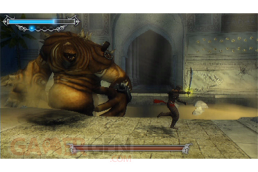 Prince of persia les sables oublies screenshot PSP connectivite 204