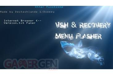 VSH and Recovery Menu Flasher006