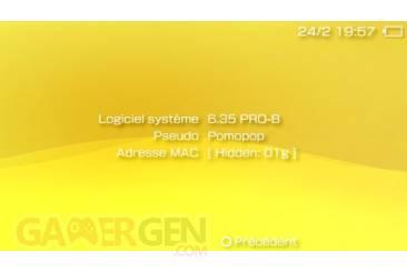 Custom Firmware 6.35 Pro-B 005