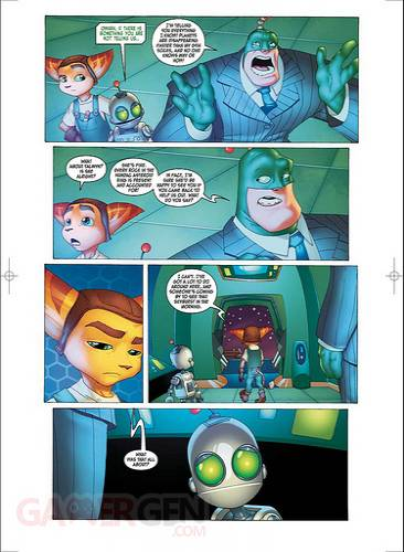 ratchet et clank comic