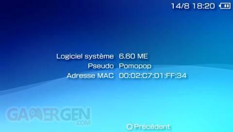 Custom Firmware 6.60 ME-1 003