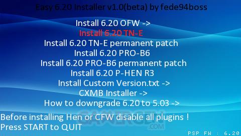 easy 6.20 installer 1.1 beta 007