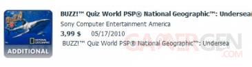 Pack Geographique pour Buzz Quizz World PSP!