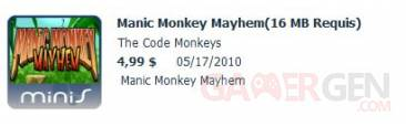 minis Manic Monkey Mayhem