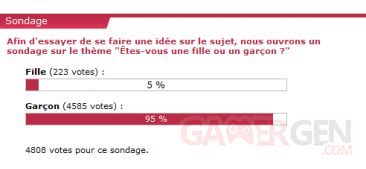 sondage janvier 2010