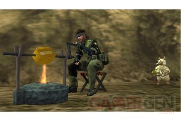 Metal-Gear-Solid-Peace-Walker-niveau-bonus-Monster-Hunter-wyverns-felyne001