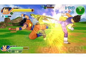 Dragon Ball Tag Versus Tenkaichi Team DBZ PSP