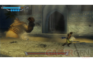 Prince of persia les sables oublies screenshot PSP connectivite 203