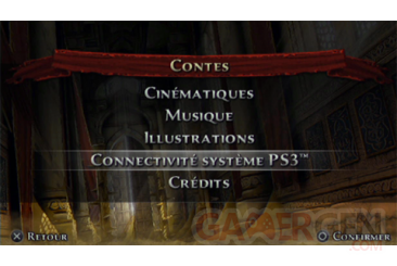 Prince of persia les sables oublies screenshot PSP connectivite 200