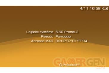 Custom Firmware 5.50 Prometheus 004
