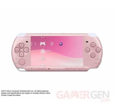 Coloris PSP Rose 002
