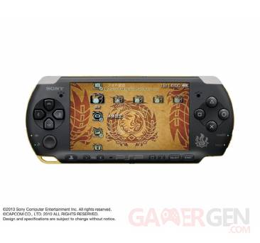 PSP Collector Monster Hunter Portable 3rd 001