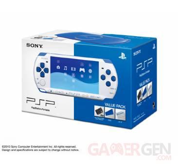 Coloris PSP Bleu Blanc 003