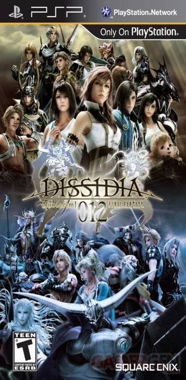 Dissidia Duodecim Final Fantasy jaquette US