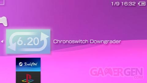 6.20 Downgrader chronoswitch for 09g 001
