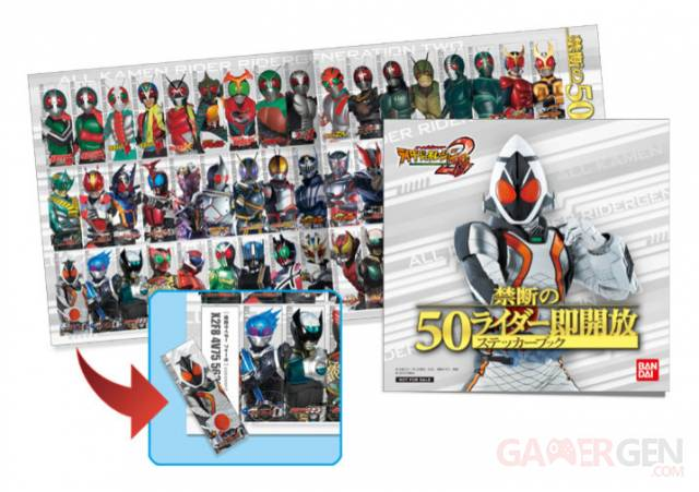 All Kamen Rider Rider Generation 2 - scan