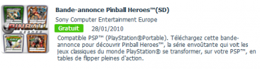 bande annonce  pinball hereos