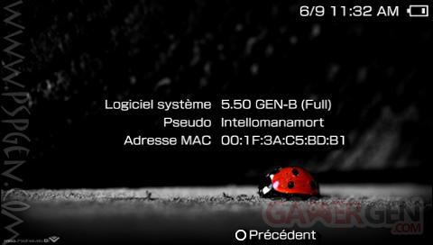 Custom Firmware 5.50 gen B2 5.50 GEN B2 - 001