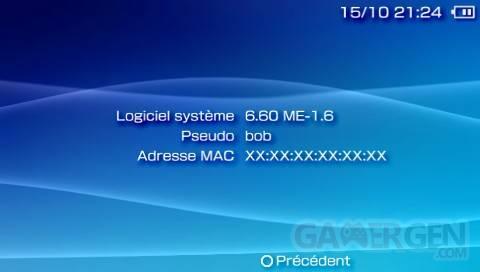 Custom Firmware 6.60 ME-1.6 003