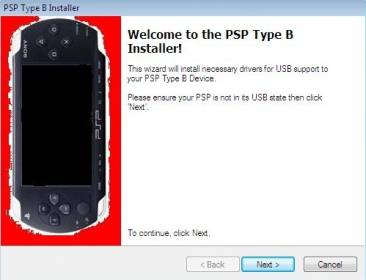 How to Install PSP Type B Driver in Windows 7 64-Bit for RemoteJoy Lite