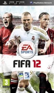 Fifa 12 PSP jaquette