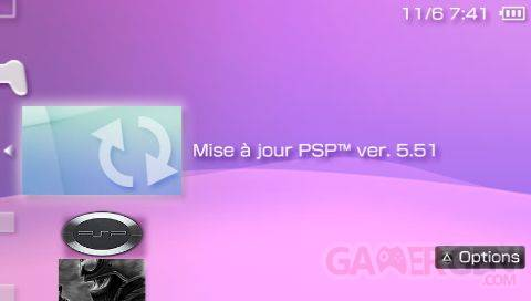 firmware officiel 5.51 screenshot0