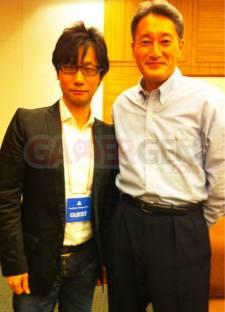 Hideo Kojima et Kaz Hirai Playstation Meeting
