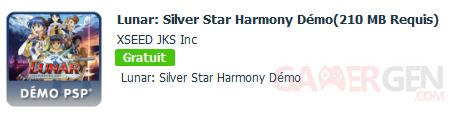 Lunar Silver Star Harmony demo