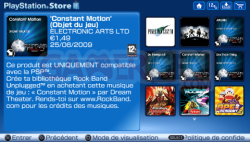 Mise à jour Playstation Store (4)
