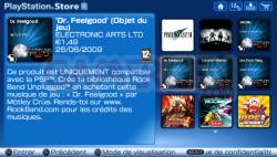 Mise à jour Playstation Store (5)