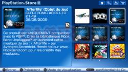 Mise à jour Playstation Store (6)