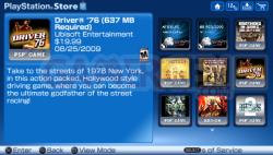 Mise à jour playstation store (8)