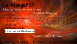 OneManga PSP Client v0.1 PCT2137