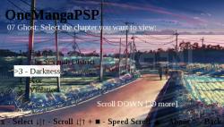 OneManga PSP Client v0.1 PCT2138
