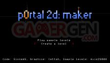 P0rtal 2D maker 0.1 008