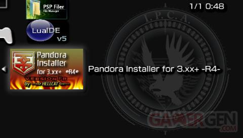 Pandora Installer R4 - xmb icône