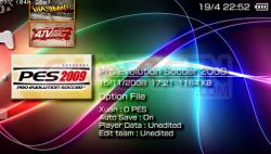 PES2009FichierOption