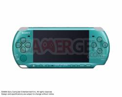 PSP 3000 - Turquoise Green