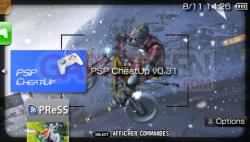 PSP CheatUp 0.31