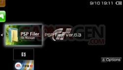 PSP Filer